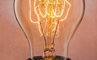 Как устроен патрон лампы накаливания.