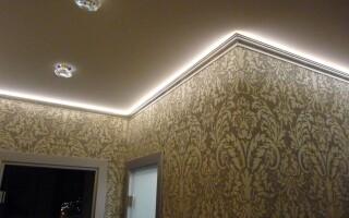Потолочное освещение вашего дома