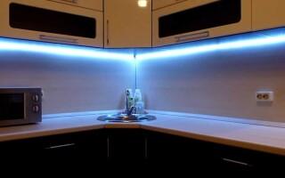 Ваша уютная кухня с чудесным освещением