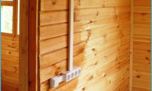 Электропроводка в деревянном доме своими руками: описание, схема, фото.