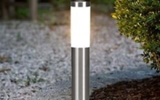 Уличные светильники: особенности наружного освещения.