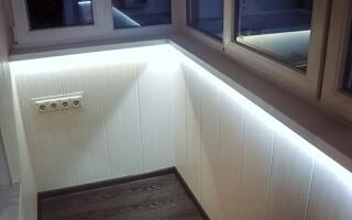 Изучаем освещение на балконе: основные особенности расположения светильников.