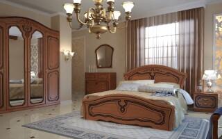 Основные принципы освещения для спальни, методы зонирования освещения.