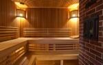 Правильное и безопасное освещение для бани.