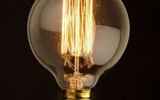 Характеристики и особенности лампы накаливания е27.