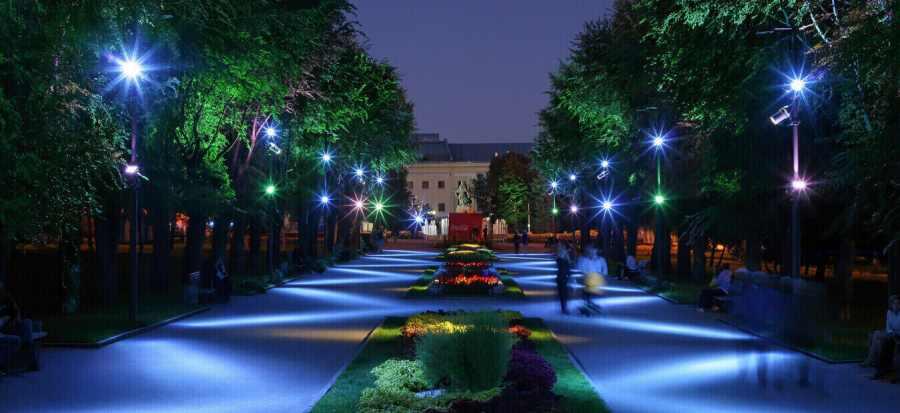 Качественное уличное освещение