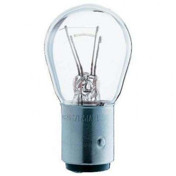 Лампа накаливания, 12V, 21/5W, BAY15d, МАЯК, 61215, двухнитевая с большим цоколем.