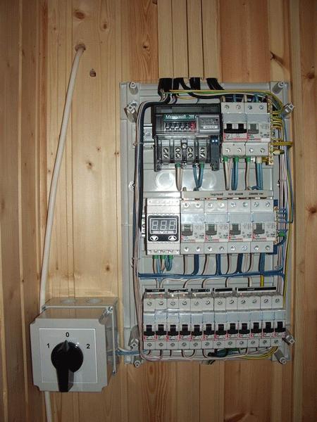 Электрощит в бане_2.