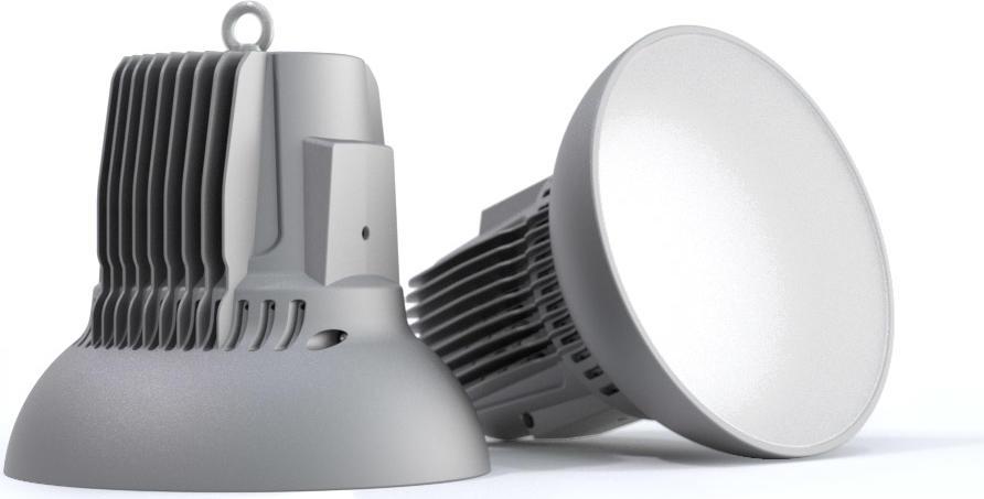 Светодиодный светильник SVT Колокол SVT-P H-230-700-IP54.